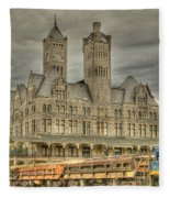 Union Station Fleece Blanket