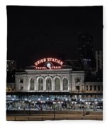 Union Station Denver Colorado 2 Fleece Blanket