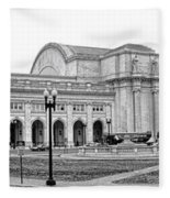 Union Station Washington Dc Fleece Blanket