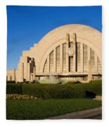 Union Terminal, Cincinnati Fleece Blanket