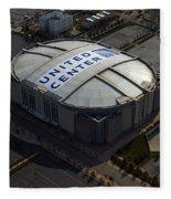 United Center Chicago Sports 09 Fleece Blanket