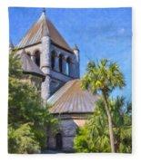 United Church Of Christ Fleece Blanket