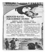 United Fruit Company, 1922 Fleece Blanket