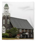 United Methodist Church New Harbor Maine Fleece Blanket