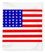 United States 30 Stars Flag Fleece Blanket