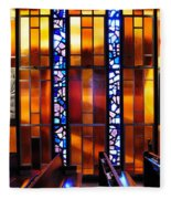 United States Air Force Academy Cadet Chapel Detail Fleece Blanket