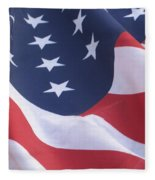 United States Flag  Fleece Blanket