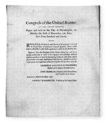 United States Mint, 1792 Fleece Blanket