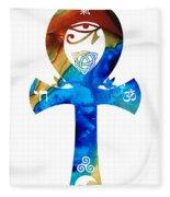 Unity 15 - Spiritual Artwork Fleece Blanket