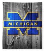 University Of Michigan Fleece Blanket