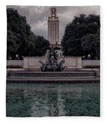 University Of Texas Icons Fleece Blanket
