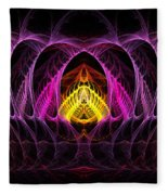 Untitled 396 Fleece Blanket