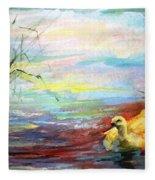 Untitled Watercolor       Fleece Blanket