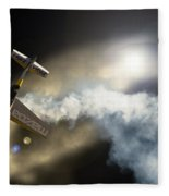 Up And Down Again Fleece Blanket