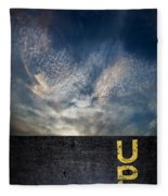 Up At Sunrise Fleece Blanket