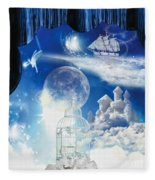 Up In The Air Fleece Blanket