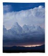 Up In The Clouds  Fleece Blanket