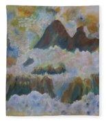 Up On Cloud Nine Fleece Blanket