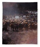 Up The Road Fleece Blanket