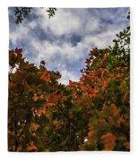 Up To The Sky Fleece Blanket