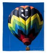 Up Up And Away In My Beautiful Balloon Fleece Blanket
