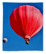 Up Up And Away Fleece Blanket