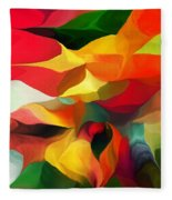 Uplifting Psychically  Fleece Blanket