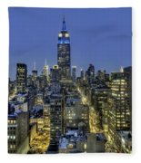Upon A Restless Night Fleece Blanket