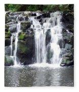 Upper Beaver Falls Fleece Blanket