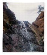 Upper Dorothy Falls 2 Fleece Blanket