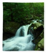 Upper Lynn Camp Prong Cascades Fleece Blanket