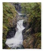 Upper Twin Falls Fleece Blanket