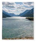 Upper Waterton Lake Fleece Blanket
