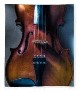 Upright Violin - Cool Fleece Blanket