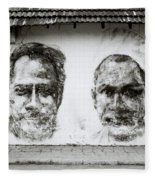 Urban Art In Cochin Fleece Blanket