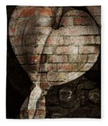 Urban Heart Fleece Blanket