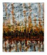 Urban Omega Fleece Blanket