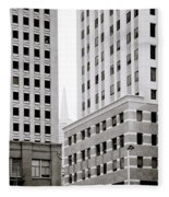 Urban San Francisco Fleece Blanket