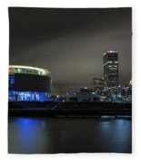 Urban Sapphire Fleece Blanket