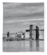 Urban Scene Fleece Blanket