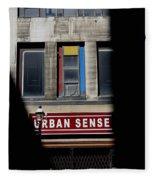 Urban Sense 1 Fleece Blanket