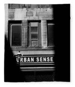 Urban Sense 1b Fleece Blanket