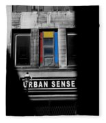 Urban Sense 1c Fleece Blanket