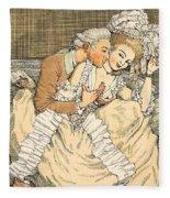 Urgent Love Fleece Blanket
