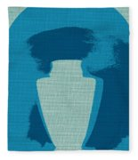 Urn On Canvas Fleece Blanket