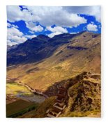 Urubamba River Fleece Blanket