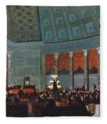 U.s. Congress - House Fleece Blanket