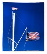 Us Flag 19749 Fleece Blanket