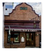 Us Hotel Bar And Grill - Manayunk  Fleece Blanket