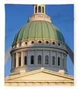 Us, Missouri, St. Louis, Courthouse Fleece Blanket
